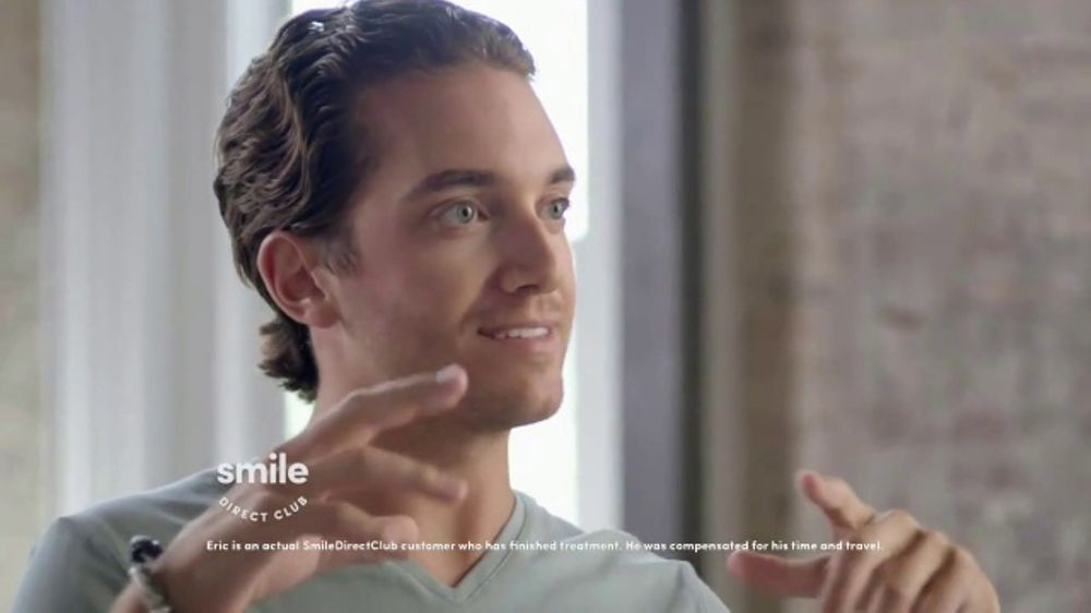 Smile Direct Club TV Commercial, 'Real Testimonial: Eric'