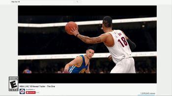 NBA Live 18 TV Spot, 'Launch Hype' Song by Lil Uzi Vert - Thumbnail 1
