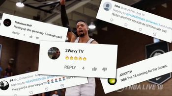 NBA Live 18 TV Spot, 'Launch Hype' Song by Lil Uzi Vert - Thumbnail 6