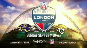 Yahoo! TV Spot, \'2017 NFL Football: Ravens vs. Jaguars\'