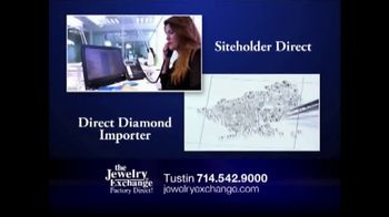 Jewelry Exchange TV Spot, 'Certified Solitaires for $1,990'
