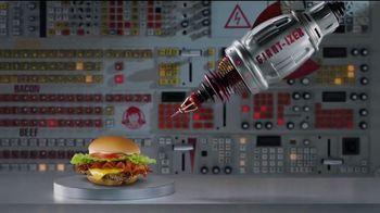 Wendy's Giant Jr. Bacon Cheeseburger TV Spot, 'That Junior's GIANT!' - Thumbnail 4