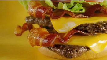 Wendy's Giant Jr. Bacon Cheeseburger TV Spot, 'That Junior's GIANT!' - Thumbnail 6