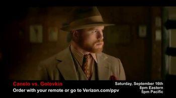 Fios by Verizon Pay-Per-View TV Spot, 'Canelo vs. Golovkin'