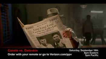 Fios by Verizon Pay-Per-View TV Spot, 'Canelo vs. Golovkin' [Spanish] - Thumbnail 2