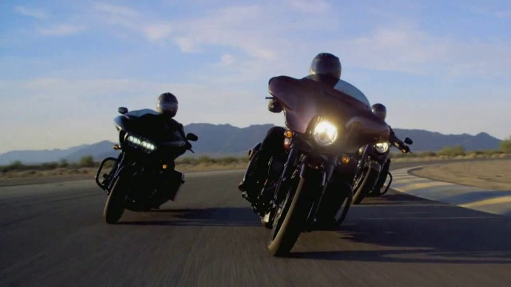 Harley-Davidson TV Commercial, 'The All-New 2018 Touring Line-Up'