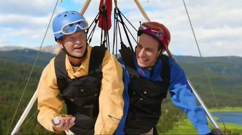 Sonic Drive-In Wing Night in America TV Spot, 'Hang Gliding' - Thumbnail 3