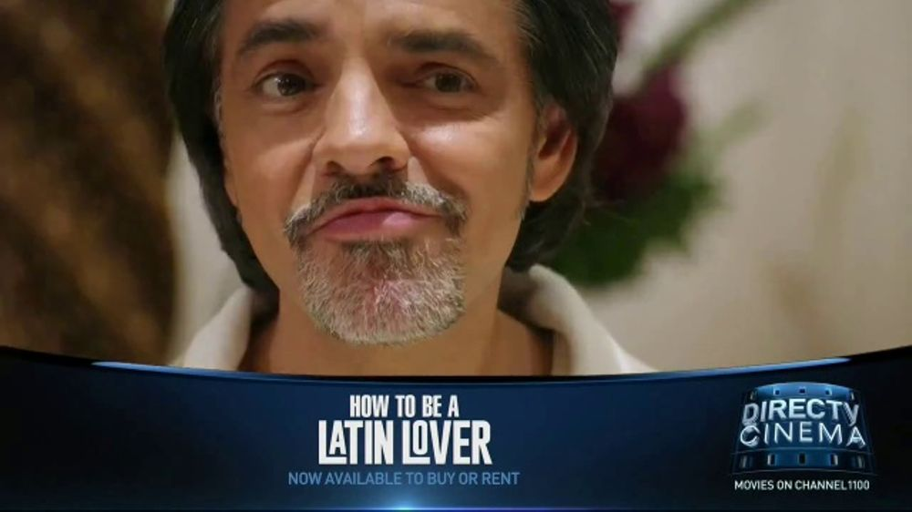 Directv cinema tv commercial how to be a latin lover ispot ccuart Image collections
