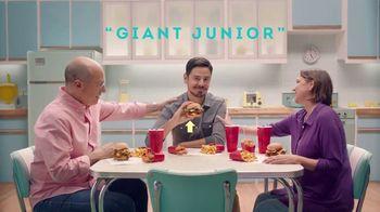 Wendy's TV Spot, 'Una junior bien crecidita' [Spanish] - 3006 commercial airings