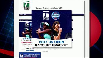 Tennis Channel TV Spot, 'Racquet Bracket: 2017 US Open' - Thumbnail 8