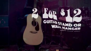 Guitar Center Labor Day Savings Event TV Spot, 'Guitars and Stands' - Thumbnail 6