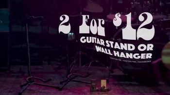 Guitar Center Labor Day Savings Event TV Spot, 'Guitars and Stands' - Thumbnail 7