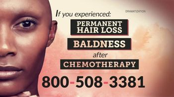 The Goss Law Firm P.C. TV Spot, 'Permanent Hair Loss After Chemotherapy'