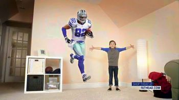 Fathead TV Spot, 'Own the Highlight: Dallas Cowboys' - Thumbnail 1