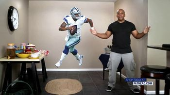 Fathead TV Spot, 'Own the Highlight: Dallas Cowboys'