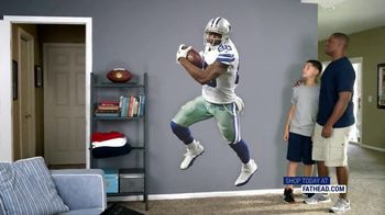 Fathead TV Spot, 'Own the Highlight: Dallas Cowboys' - Thumbnail 3