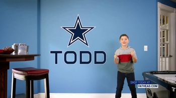 Fathead TV Spot, 'Own the Highlight: Dallas Cowboys' - Thumbnail 7
