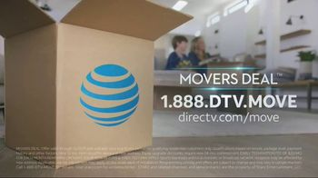 DIRECTV Movers Deal TV Spot, 'Upgrades' - Thumbnail 8