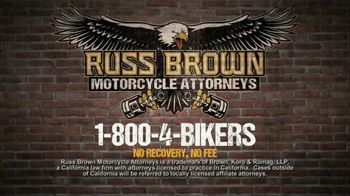 Russ Brown Motorcycle Attorney TV Commercial, 'Rights of ...