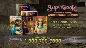 CBN Superbook DVD Club TV Spot, 'Paul and Silas' - Thumbnail 10