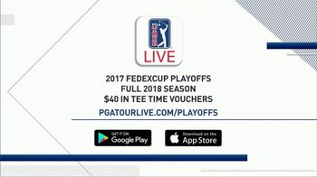 PGA TOUR LIVE TV Spot, '2017 FedExCup Playoffs' - Thumbnail 7