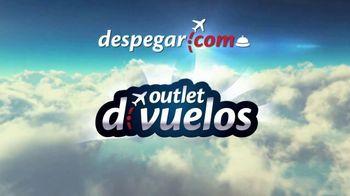 Despegar.com Outlet de Vuelos TV Spot, 'Precios bajos' [Spanish]