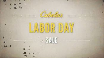 Cabela's Labor Day Sale TV Spot, 'Apparel, Camping Gear and Safes'