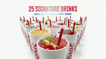 Sonic Drive-In Signature Drinks TV Spot, 'Sommelier: Iced Coffee Twists' - Thumbnail 6
