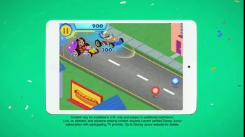 Disney Junior App TV Spot, 'Roadster Racers: Super Summer Arcade' - Thumbnail 3
