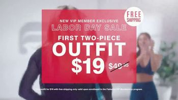 Fabletics.com Labor Day Sale TV Spot, 'New Collection' Feat. Kate Hudson - Thumbnail 7
