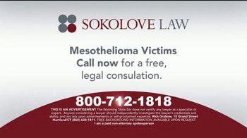 Sokolove Law TV Spot, 'Asbestos Exposure'