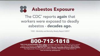 Sokolove Law TV Spot, 'Asbestos Exposure' - Thumbnail 2