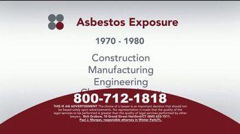 Sokolove Law TV Spot, 'Asbestos Exposure' - Thumbnail 4