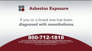 Sokolove Law TV Spot, 'Asbestos Exposure' - Thumbnail 6