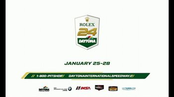Daytona International Speedway TV Spot, '2018 Rolex 24 Daytona' - Thumbnail 9