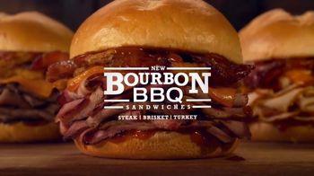 Arby's Bourbon BBQ Sandwiches TV Spot, 'Cowboy Hat Sign' - Thumbnail 8