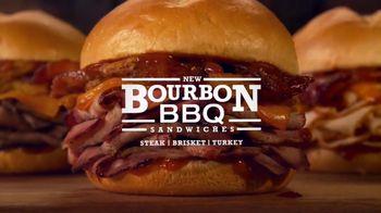 Arby's Bourbon BBQ Sandwiches TV Spot, 'Cowboy Hat Sign' - Thumbnail 9