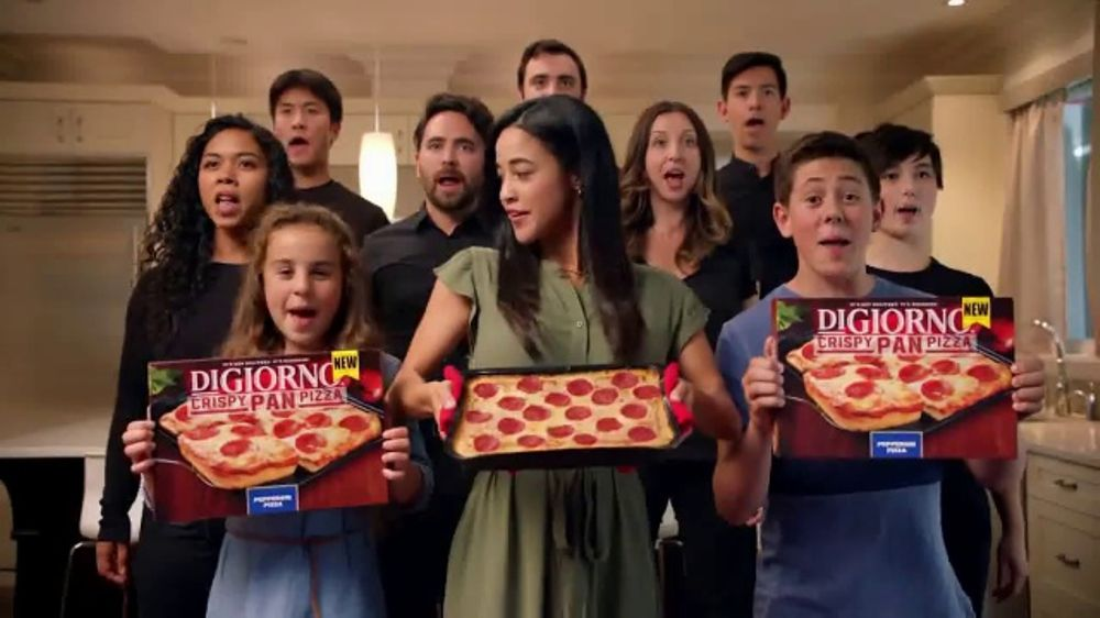 Digiorno Crispy Pan Pizza Tv Commercial Pan Pan Pan Pan Ispottv