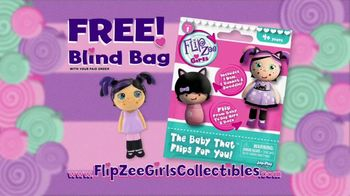Mini Flip Zee Girls TV Spot, 'Flip for a Big Girl Surprise'