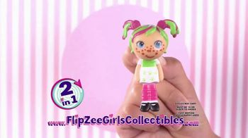 Mini Flip Zee Girls TV Spot, 'Flip for a Big Girl Surprise' - Thumbnail 7