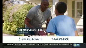 Laser Spine Institute TV Spot, 'Major General Price's Mission for Relief' - Thumbnail 6