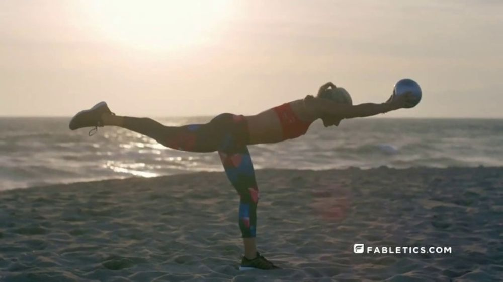 Fabletics.com Labor Day Sale TV Commercial, 'Two-Piece Outfit'