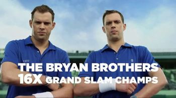 IZOD Performance Stretch TV Spot, 'Tennis Training' Feat. Bob & Mike Bryan - Thumbnail 1