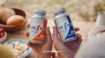 One A Day 50+ Healthy Advantage TV Spot, 'Outdoor Cooking' - Thumbnail 4