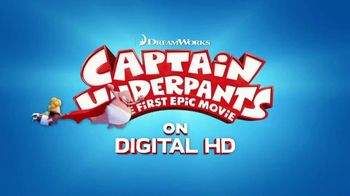 Captain Underpants: The First Epic Movie Home Entertainment TV Spot