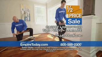 Empire Today 1/2 Price Sale TV Spot, 'Flooring Styles' - Thumbnail 7