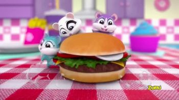 Zuru Hamsters in a House Food Frenzy TV Spot, 'Yummy Fun'