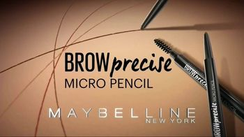 Maybelline New York Brow Precise Micro Pencil TV Spot, 'Fill and Blend' - Thumbnail 4