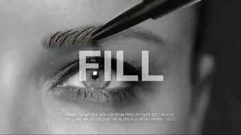 Maybelline New York Brow Precise Micro Pencil TV Spot, 'Fill and Blend' - Thumbnail 5