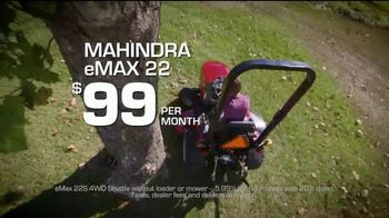 Mahindra Inventory Clearance Sale TV Spot, 'Like Never Before: eMAX'